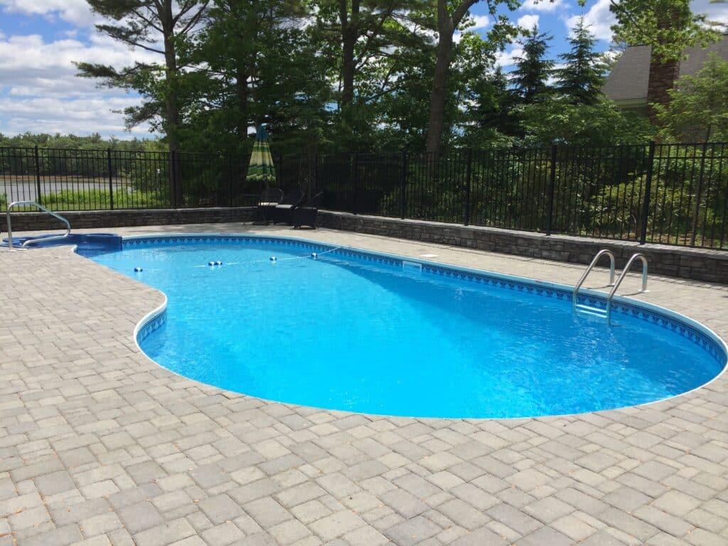 Latham Vinyl Liner Pools Ledgwater Pools Maine Pool
