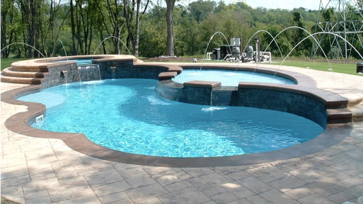 Ledgewater Pools Fiberglass Pools